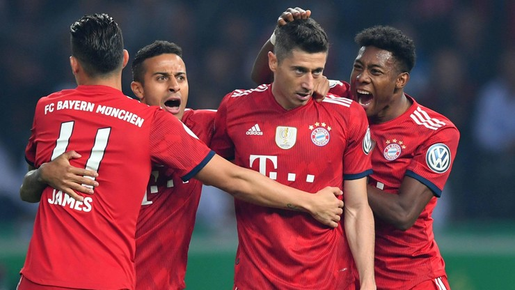 Lewandowski w roli głównej na uroczystej kolacji Bayernu