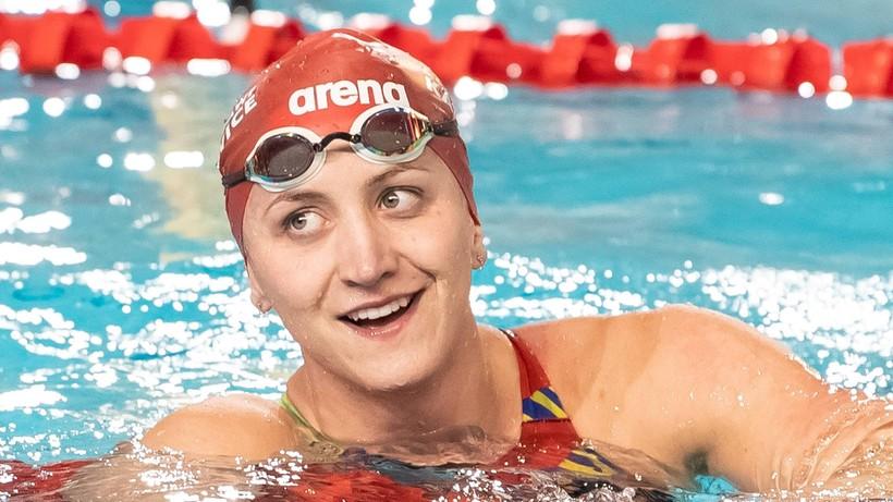Rekord Polski Wasick na 100 m st. dowolnym na krótkim basenie