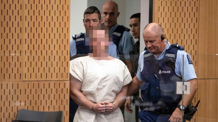 Nowa Zelandia: będą zarzuty 50 morderstw dla zamachowca z Christchurch