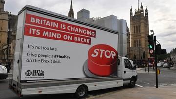Związki zawodowe w Wlk. Brytanii popierają drugie referendum ws. Brexitu