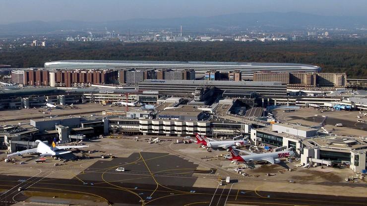 Dron zakłócił pracę lotniska we Frankfurcie