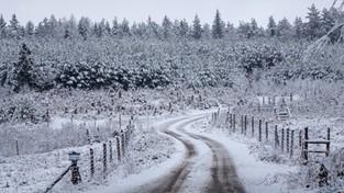 10.12.2020 00:00 Opady śniegu w spowolnieniu