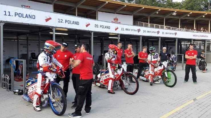 The World Games: Polscy żużlowcy gotowi na sobotnią rywalizację