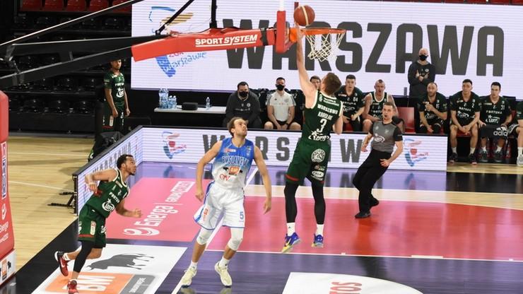 EBL: Arged BMSlam Stal Ostrów Wielkopolski - Legia Warszawa. Transmisja w Polsacie Sport Extra