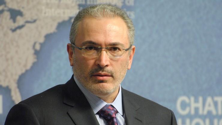Rosja: sąd podtrzymał decyzję o zaocznym aresztowaniu Chodorkowskiego