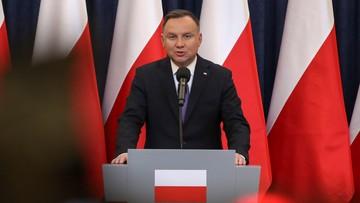 Prezydent Andrzej Duda stracił pierwsze miejsce w rankingu zaufania