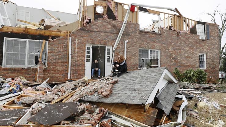 Potężne tornada na południu USA. Są ofiary śmiertelne