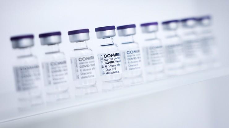 Dostawy szczepionek do Polski. Ponad 2 mln dawek od dwóch producentów