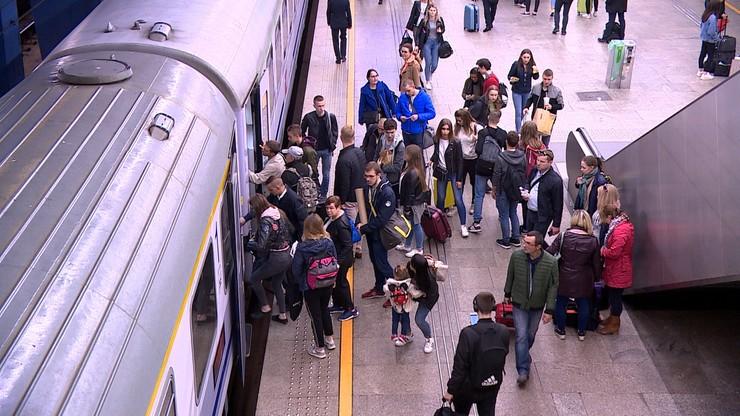 Wstrzymanie ruchu pociągów na niektórych granicach