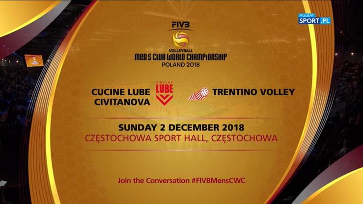 Cucine Lube Civitanova – Trentino Volley 1:3. Skrót meczu