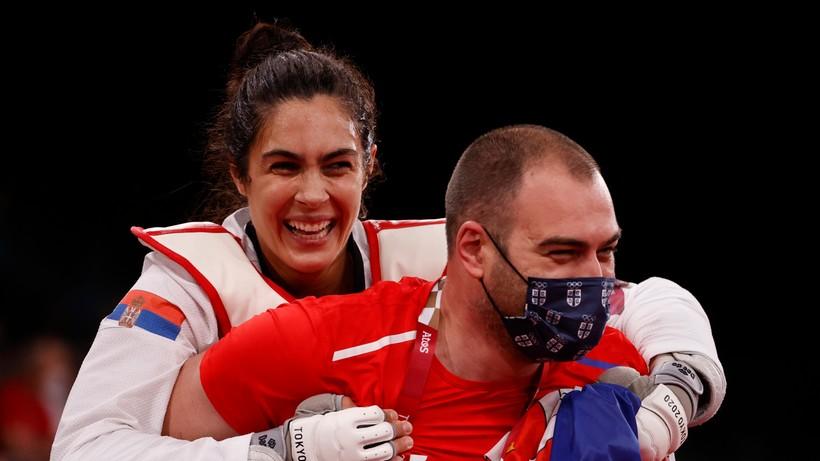 Tokio 2020: Milica Mandic na pierwszym miejscu podium w taekwondo