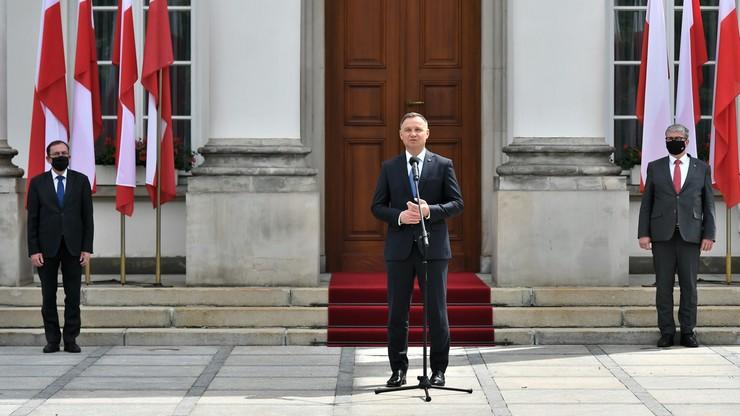 Prezydent Duda podziękował SOP