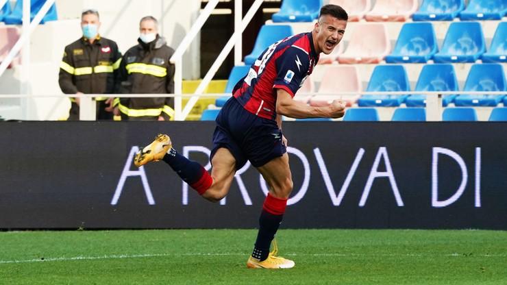 Serie A: Piękna bramka Arkadiusza Recy, wygrana Crotone