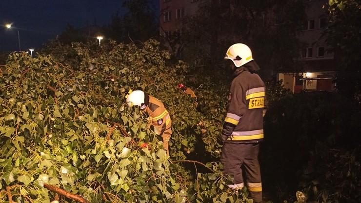 Płock. 650 interwencji straży pożarnej. Uszkodzona oczyszczalnia ścieków