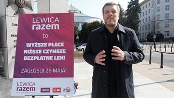 """Zandberg, Ikonowicz, Witkowski i Zawisza wśród """"jedynek"""" Lewicy Razem do PE"""