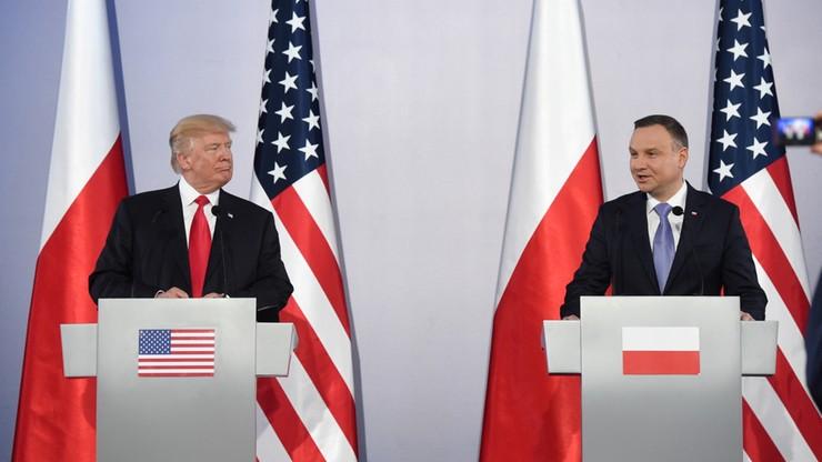 """""""Sygnał dla liderów zachodnioeuropejskich"""". Rosyjska prasa o wizycie Trumpa w Polsce"""