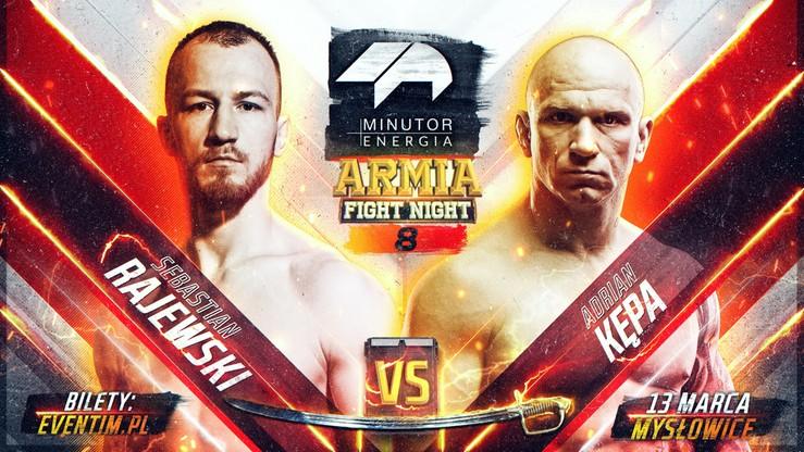 Minutor Armia Fight Night 8: Kępa i Rajewski będą walczyć o mistrzowską szablę
