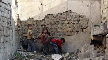 Dzieci to 60 proc. uciekinierów ze wschodniego Aleppo