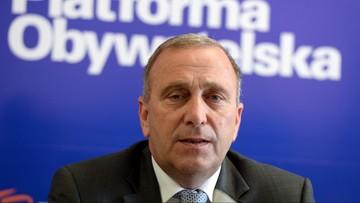 PO: jeszcze w poniedziałek wniosek ws. wotum nieufności dla szefa MON
