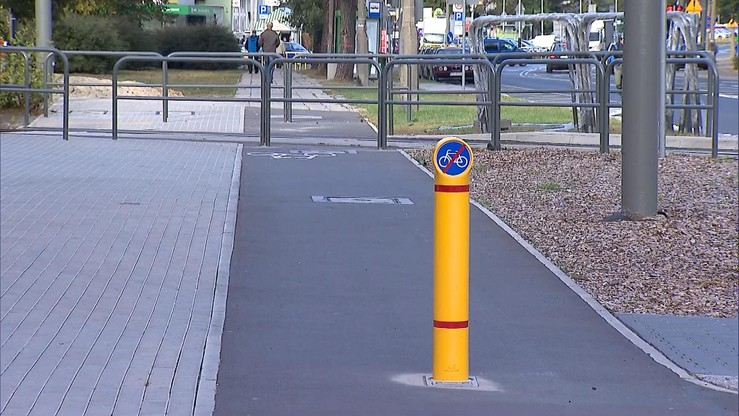 Ścieżka rowerowa tylko dla zuchwałych