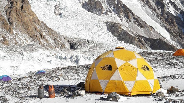 """Wyprawa na K2: Urubko i Kaczkan dotarli do obozu pierwszego. """"Dalsze decyzje jutro rano"""""""