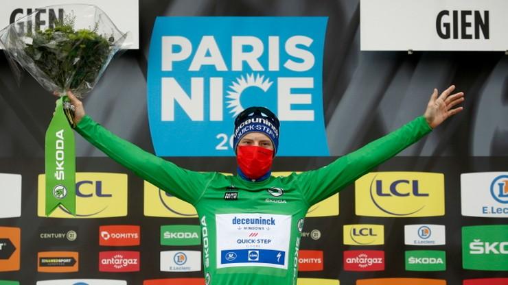 Sam Bennett wygrał piąty etap wyścigu Paryż-Nicea. Primoz Roglic nadal liderem