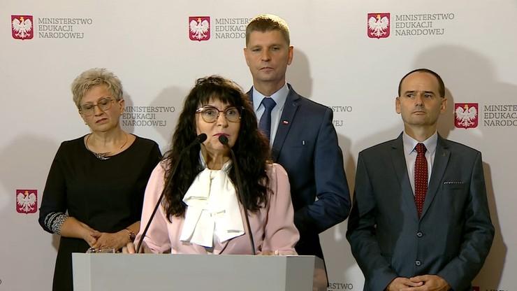 Maria Nawrocka-Rolewska na konferencji MEN: na powikłania po anginie też się umiera