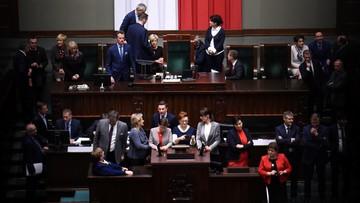 """Kaczyński: sprawa budżetu jest zamknięta. """"Blokowanie stołu marszałka to poważne przestępstwo"""""""