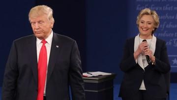 Przewaga Clinton nad Trumpem po skandalizującym wideo