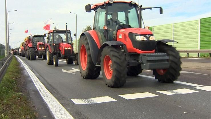 """Rolnicy na ulicach Szczecina. """"To nie jest protest polityczny"""""""