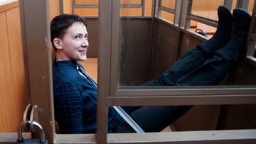 Sawczenko skazana - 22 lata pozbawienia wolności