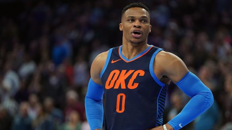 NBA: Wygrana Oklahomy po dwóch dogrywkach. Koniec serii Westbrooka