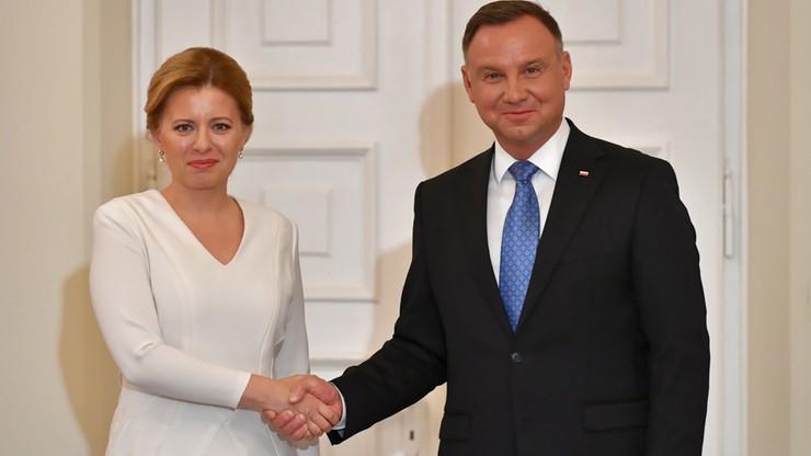 Prezydent Słowacji pytała Dudę o Izbę Dyscyplinarną Sądu Najwyższego