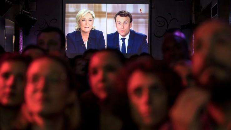 Wyjątkowa debata przedwyborcza we Francji. Sondaż: bardziej  przekonujący był Macron