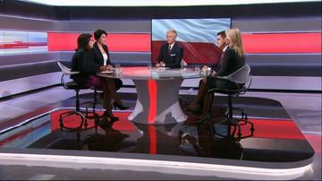 Gasiuk-Pihowicz: w PiS mamy Kaczyńskiego, a reszta to same pionki. Milewski: to jest mowa nienawiści