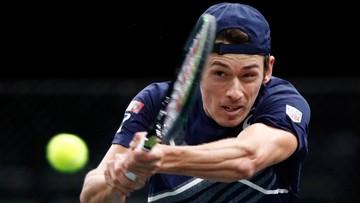 ATP w Antalyi: Alex de Minaur lepszy od Davida Goffin. Kazach drugim finalistą