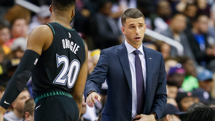 NBA: Ryan Saunders zwolniony z Minnesota Timberwolves. Pierwsza w sezonie zmiana trenera