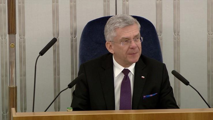 Karczewski: Senat w starym składzie już się nie zbierze