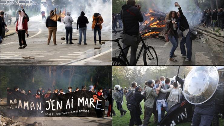 """Ogromna """"impreza"""" w Belgii, a później bitwa z policją"""