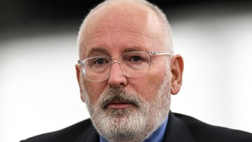 Politico: Timmermans dołącza do rywalizacji o stanowisko szefa KE