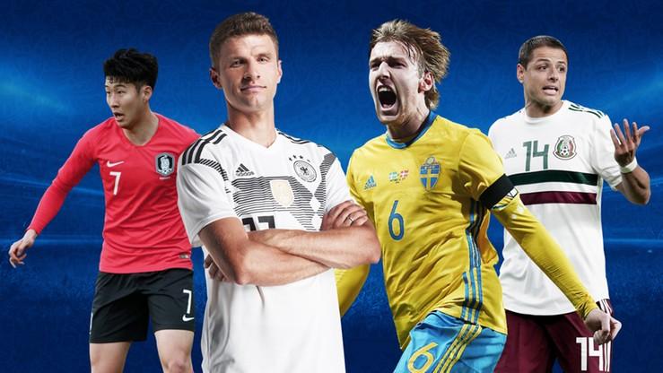 MŚ 2018: Grupa F. Niemcy, Meksyk, Korea Południowa, Szwecja