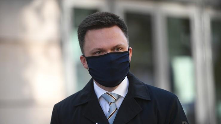 Szymon Hołownia na czele rankingu zaufania. Sondaż CBOS