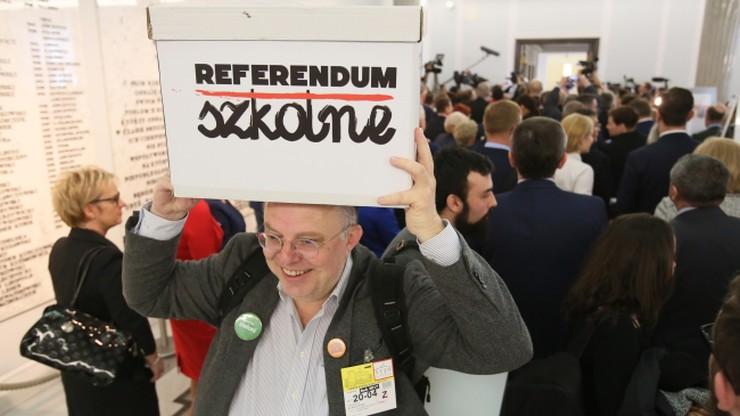 """""""Inicjatywa referendalna ws. reformy edukacji jest spóźniona"""""""