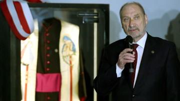 Macierewicz w Muzeum Katyńskim: zbrodnia NKWD do dziś nie została rozliczona