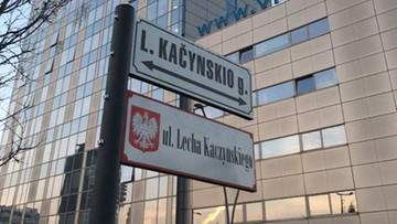 W Wilnie odsłonięto tablicę z nazwą ulicy im. Lecha Kaczyńskiego