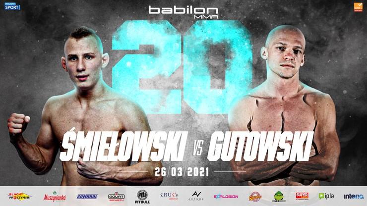 Babilon MMA 20: Królowie nokautu w eliminatorze w wadze piórkowej. Z kim zmierzy się Rutek?
