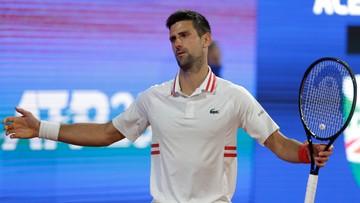 ATP w Belgradzie: Novak Djokovic przegrał w półfinale