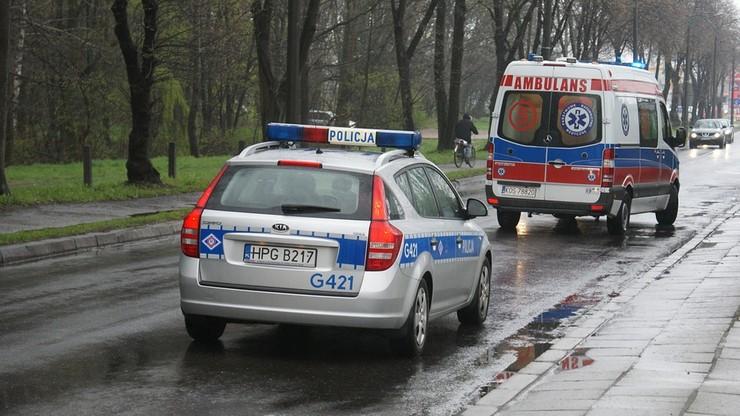 Warmińsko - mazurskie: policja szuka świadków śmiertelnego wypadku w Dąbrowach