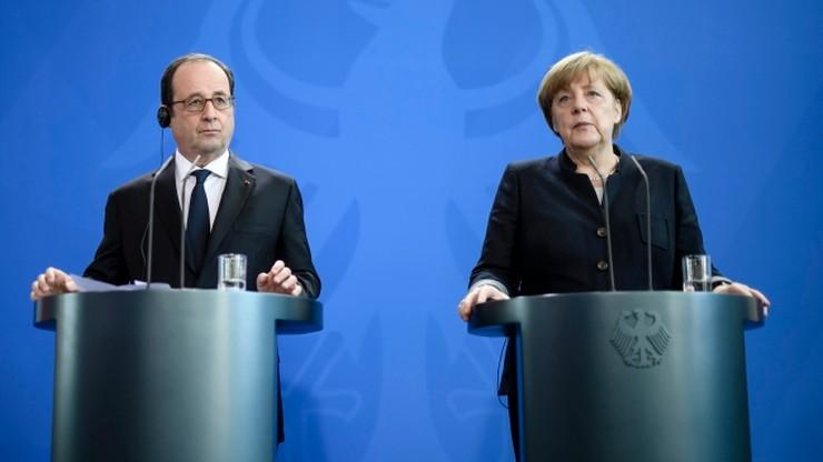 Hollande i Merkel o wyzwaniach dla UE ze strony nowej administracji USA