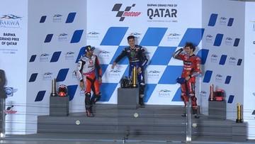 MotoGP: Zwycięstwo Mavericka Vinalesa na inaugurację sezonu w Katarze